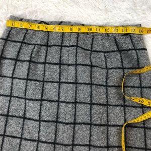 Madewell Skirts - Madewell mini skirt checkered wool SZ 8